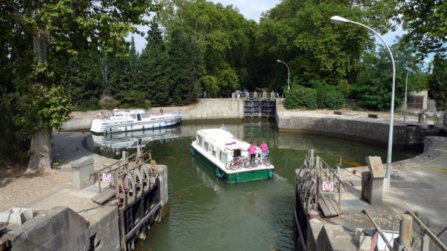 Frankrijk Canal du Midi Ecluse (AGDE,FR34) KLEIN