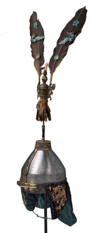 Chinese helmet 17th 18th century - DP-835-001 KLEIN 1